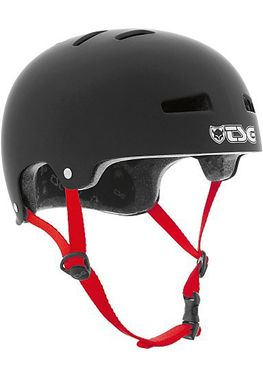 TSG Helmet Evolution Kids Solid Colors: Schwarz