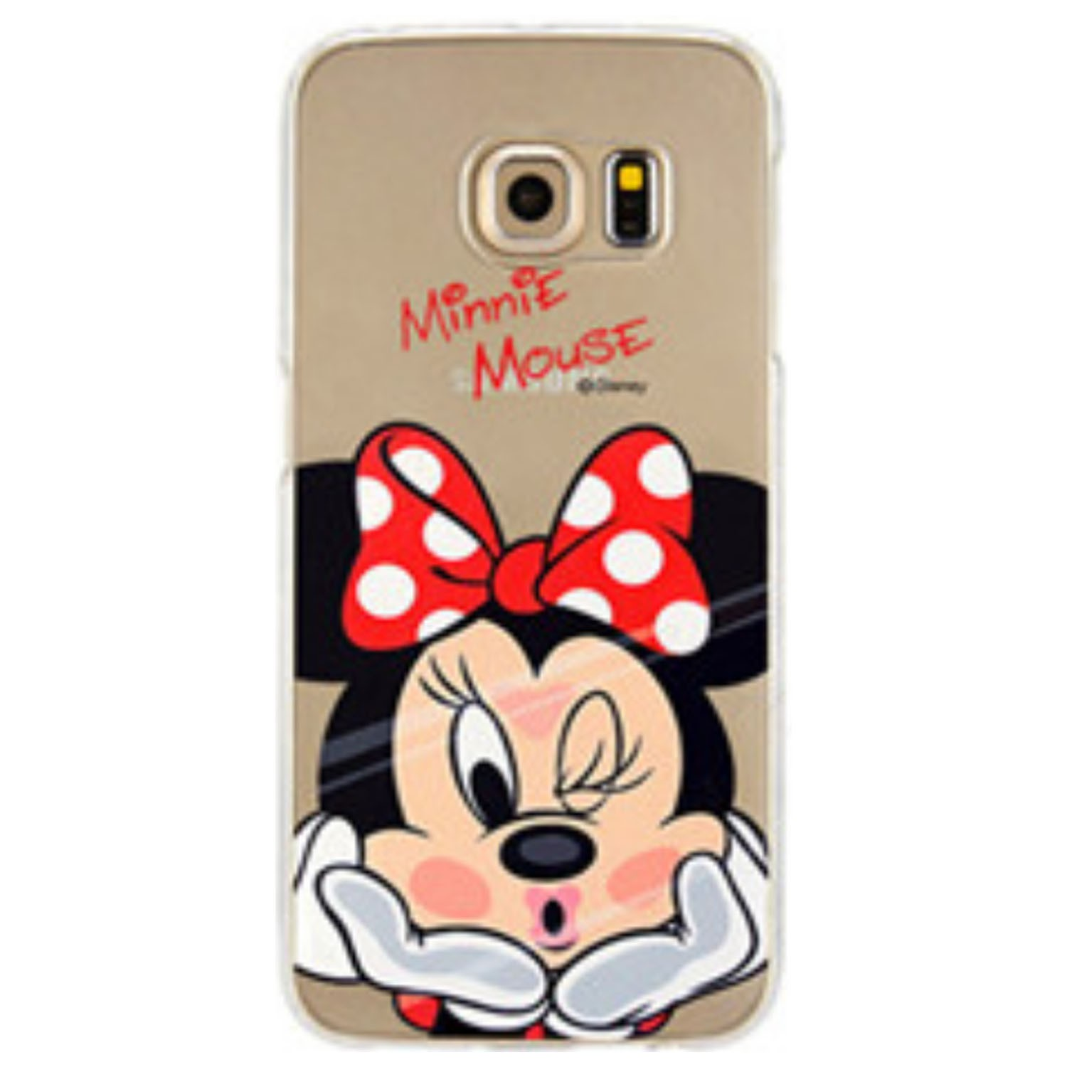 Kritzel Case Collection Galaxy S6 Edge - Minnie Mouse