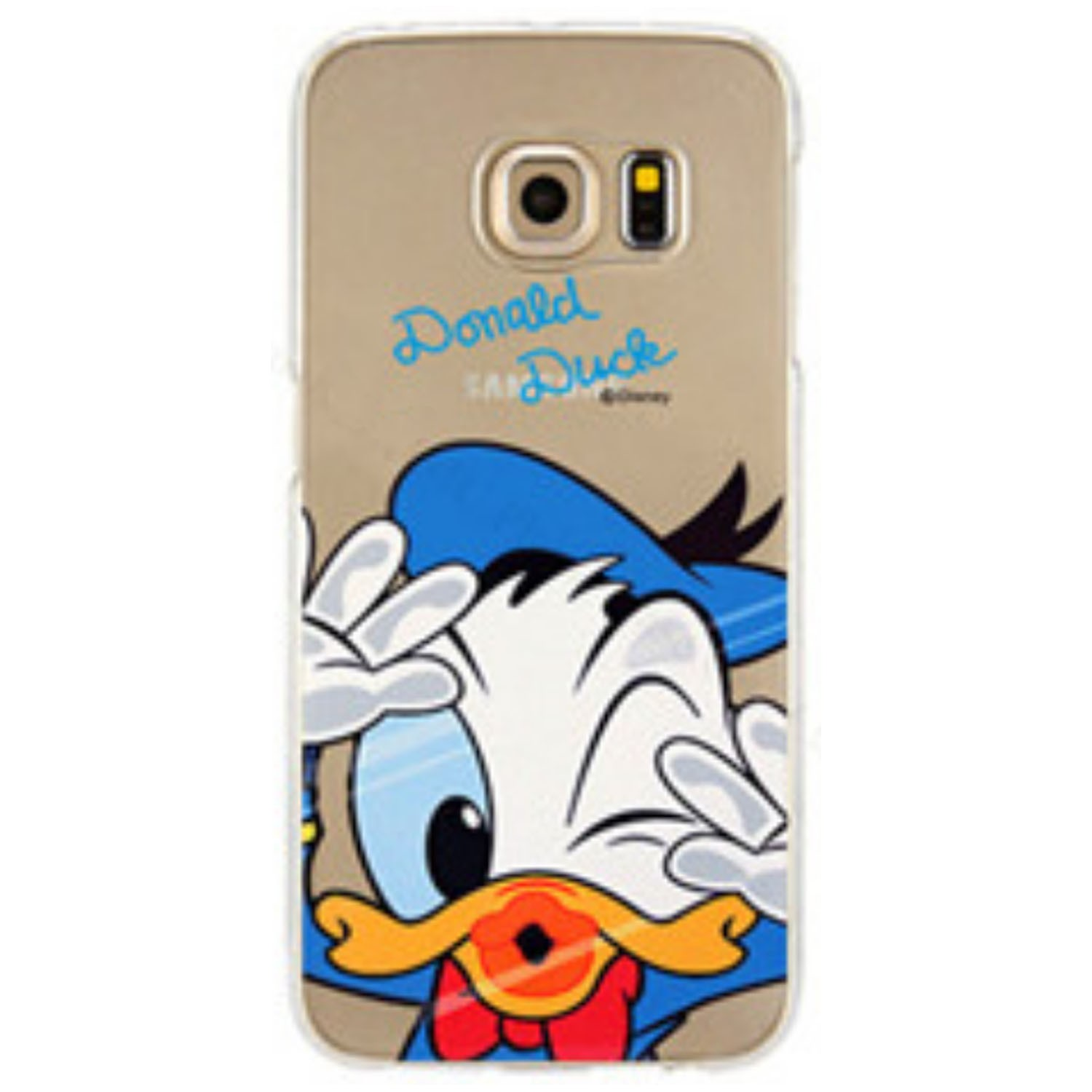 Kritzel Case Collection Galaxy S6 Edge - Donald Duck