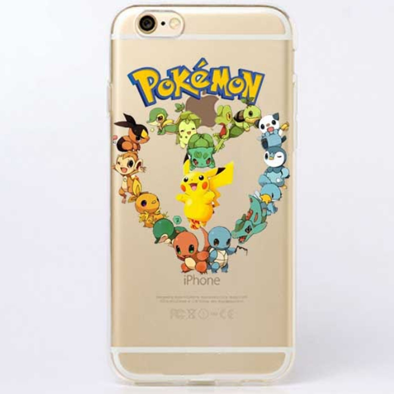 Kritzel Case iPhone 6 / 6s - Pokemon #4