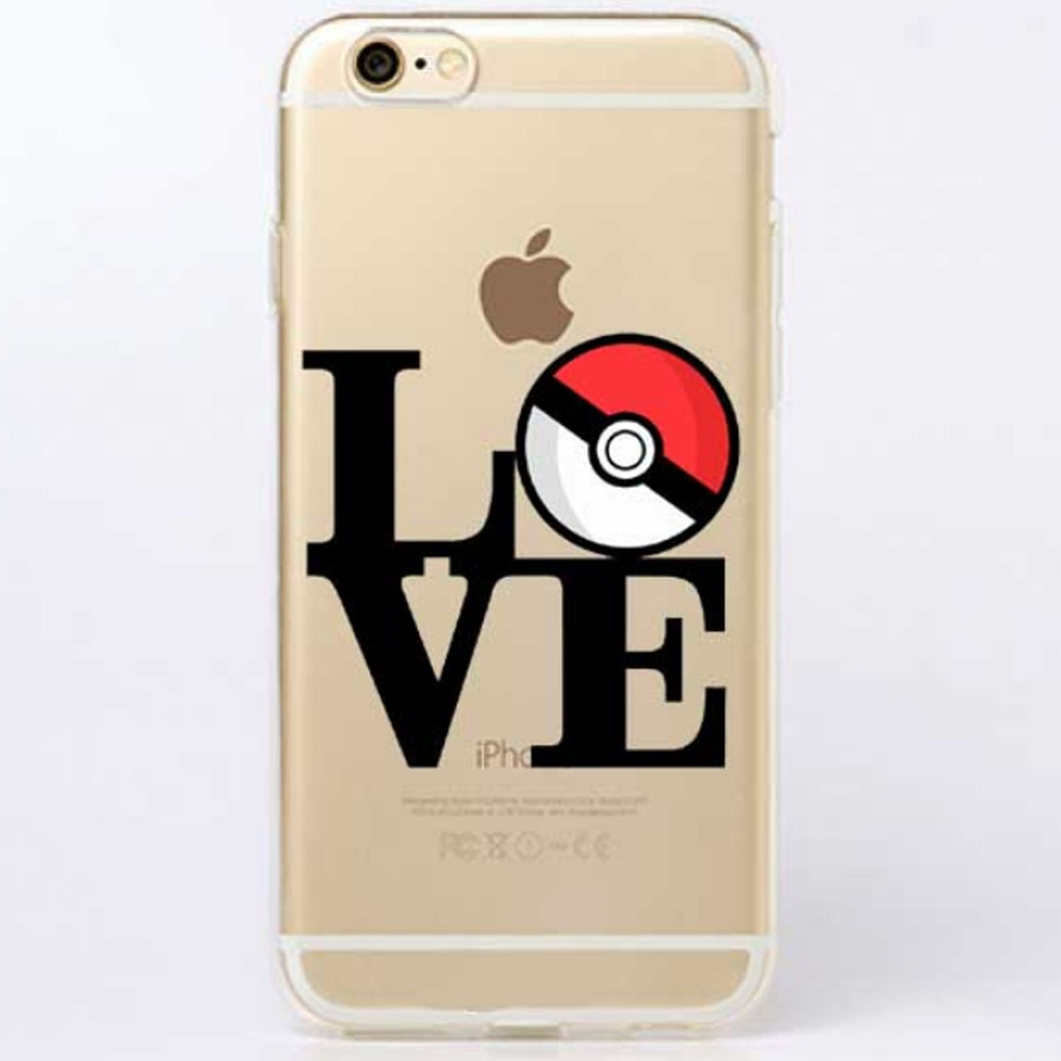 Kritzel Case iPhone 6 / 6s - Pokemon #7