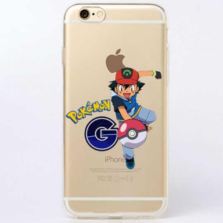 Kritzel Case iPhone 6 / 6s - Pokemon #8