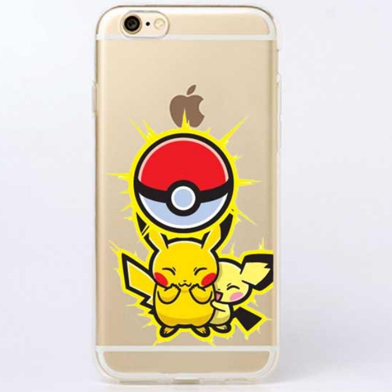 Kritzel Case iPhone 6 / 6s - Pokemon #12