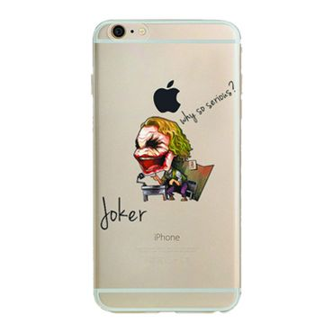 Kritzel Case iPhone 6 plus / 6s plus - Joker