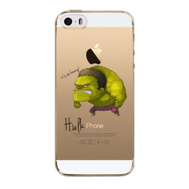 Kritzel Case iPhone SE - Hulk