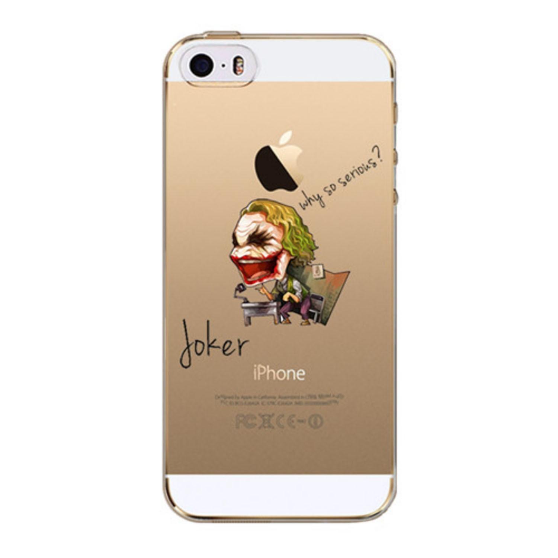 Kritzel Case iPhone SE - Joker