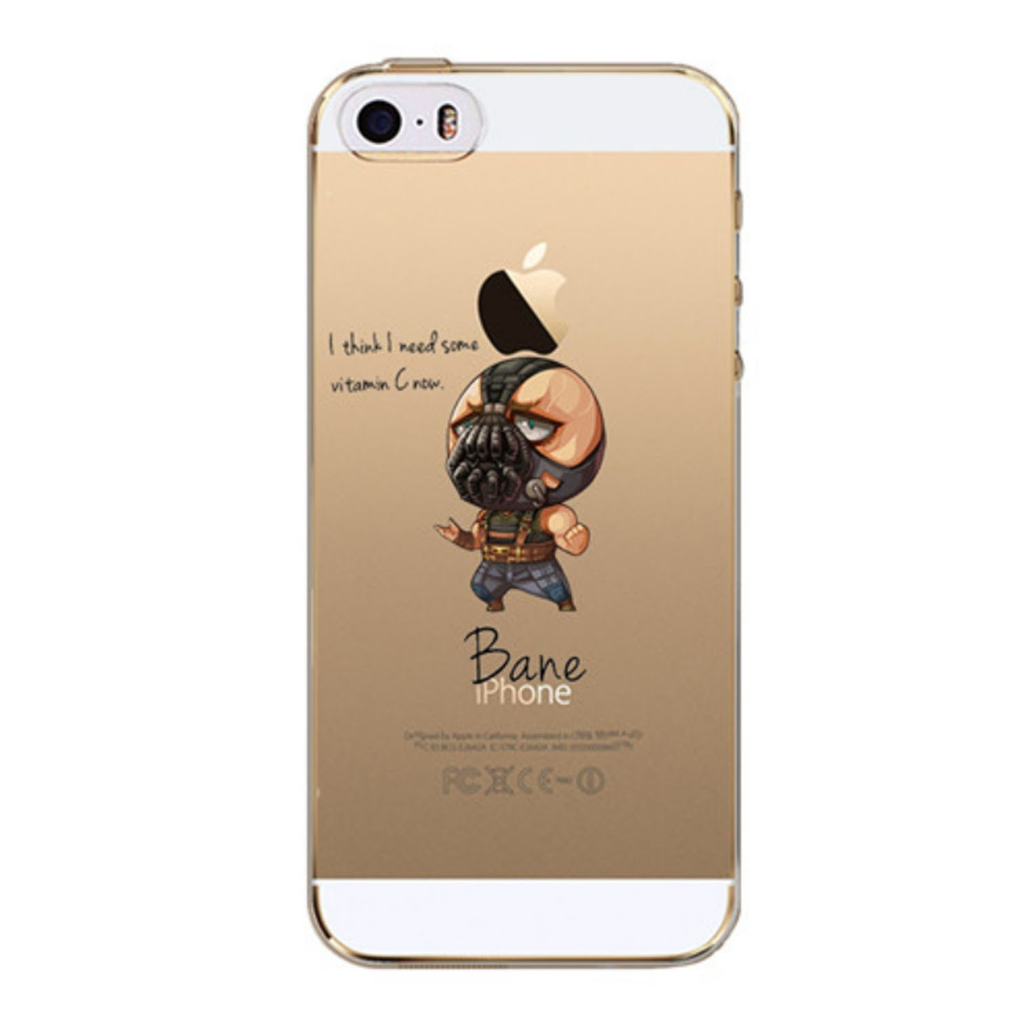 Kritzel Case iPhone SE - Bane