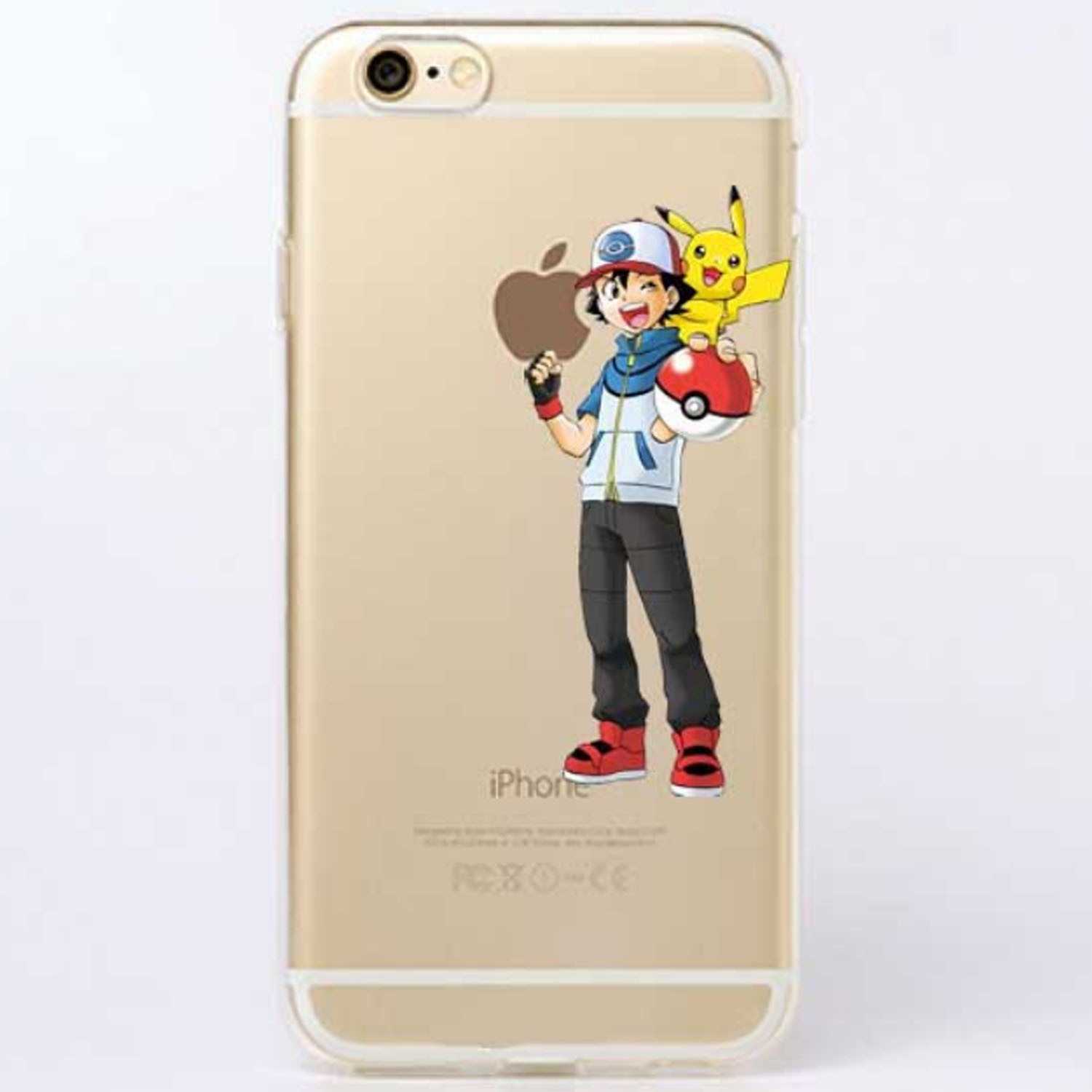 Kritzel Case iPhone 6 Plus / 6s Plus - Pokemon #5