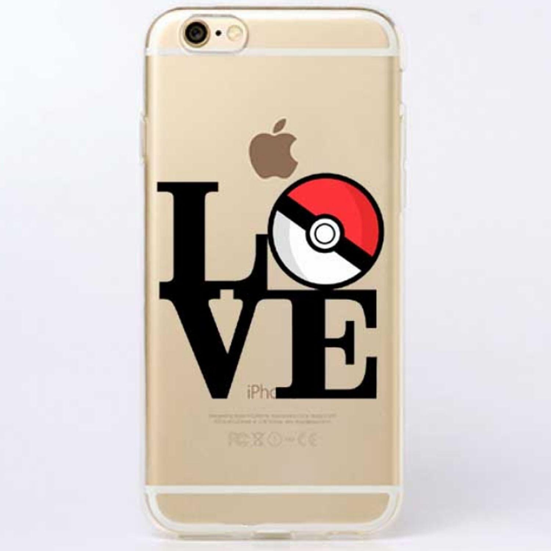 Kritzel Case iPhone 6 Plus / 6s Plus - Pokemon #7