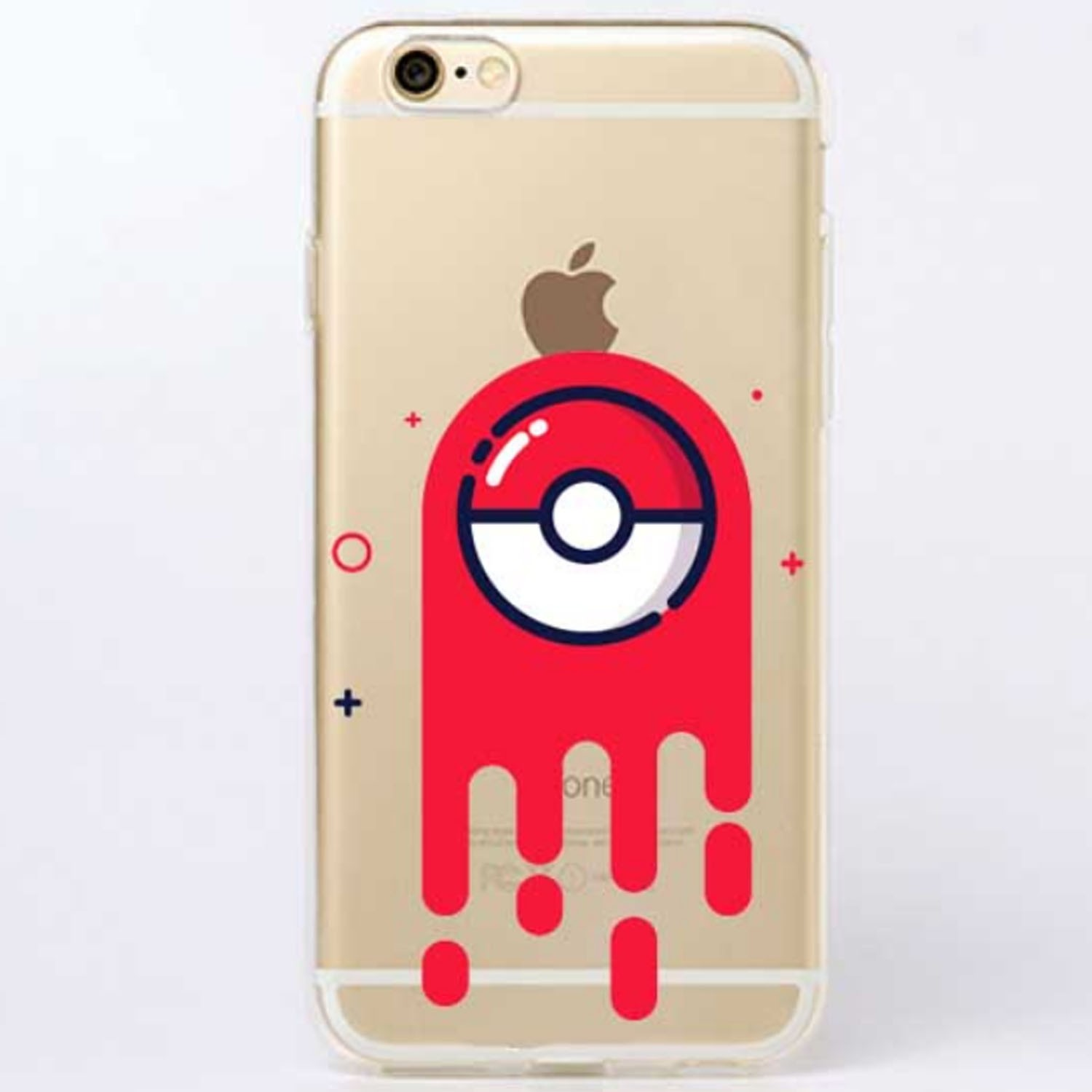 Kritzel Case iPhone 6 Plus / 6s Plus - Pokemon #9