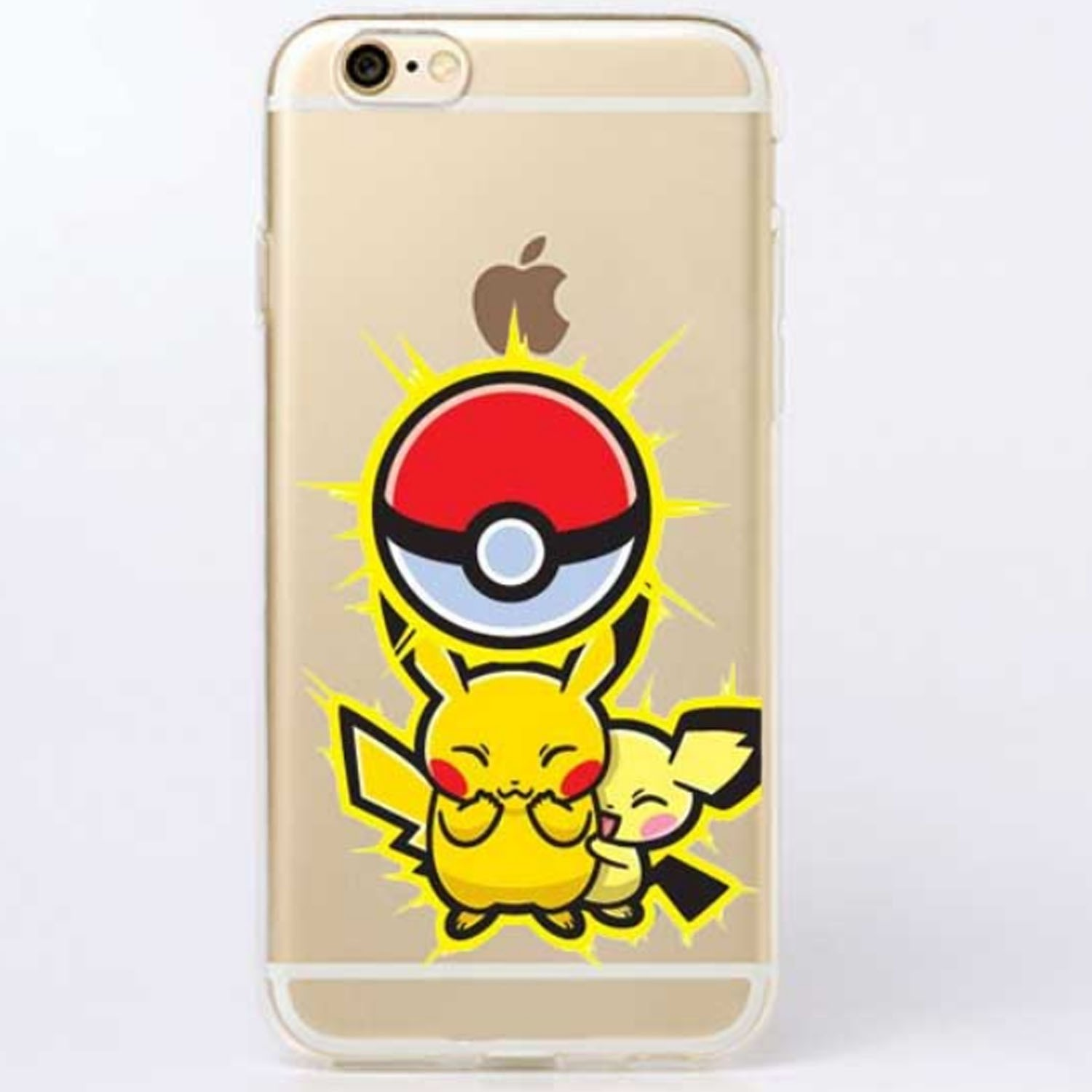 Kritzel Case iPhone 6 Plus / 6s Plus - Pokemon #12