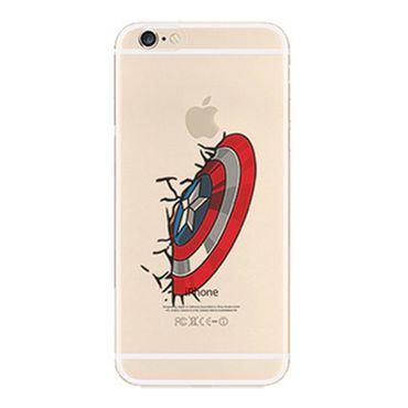 Kritzel Case iPhone 6 Plus / 6s Plus Comic Super Heroes - Captain America