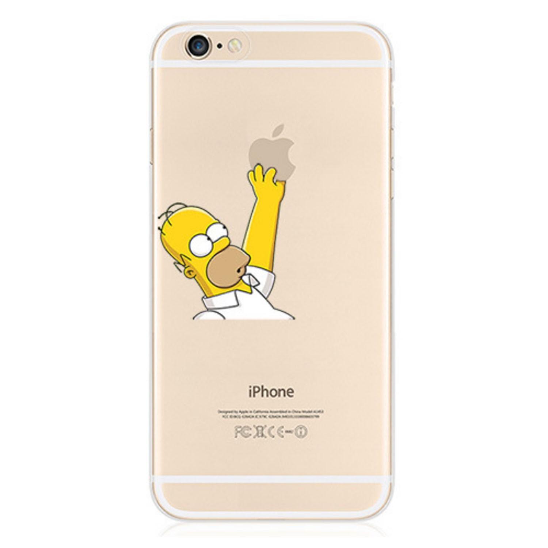 Kritzel Case iPhone 6 / 6s - Simpson #1