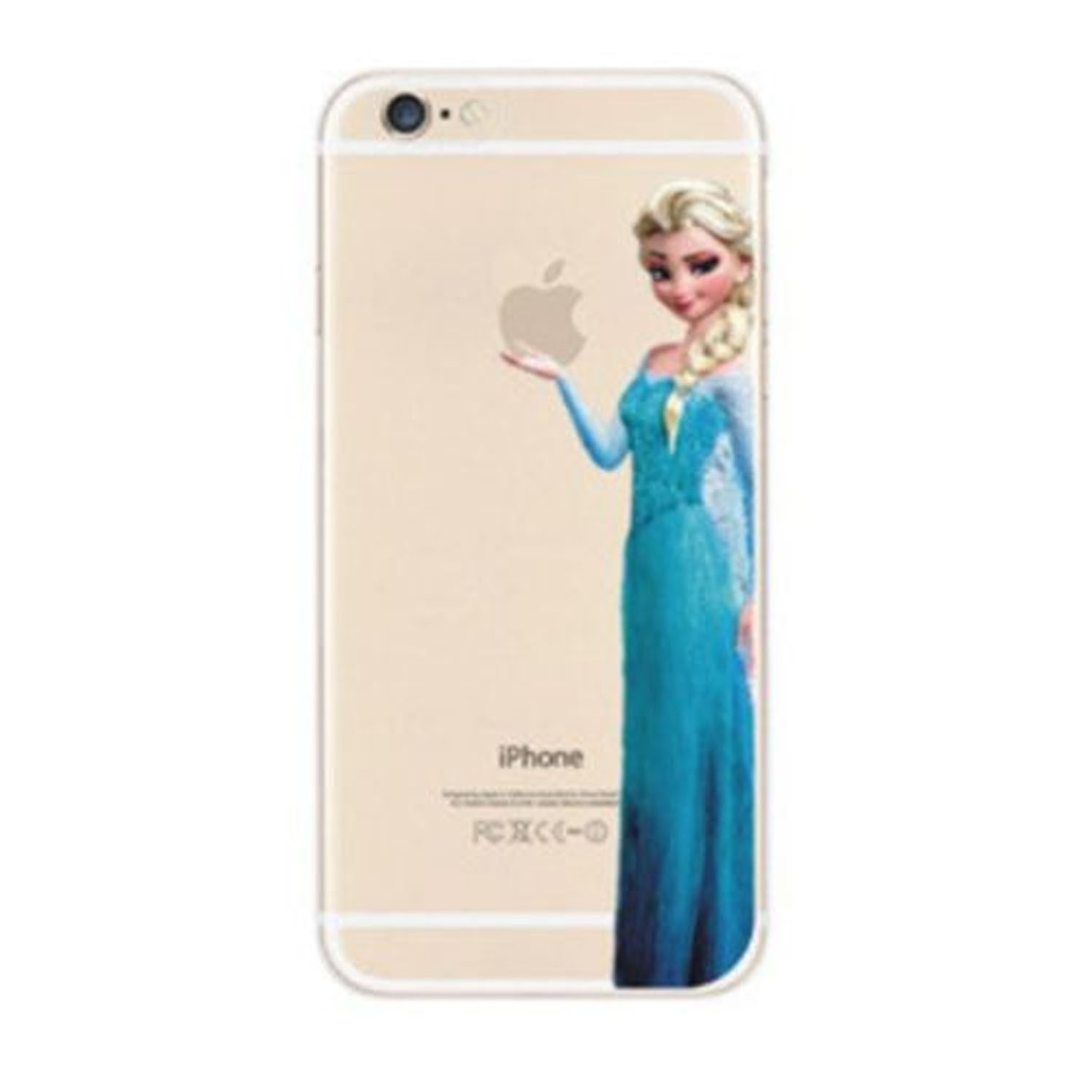 Kritzel Case iPhone 6 / 6s - Die Eiskönigin Elsa