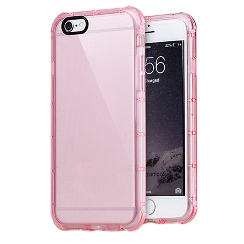 Yemota Pro Hybrid Case iPhone 6 / 6s - Pink