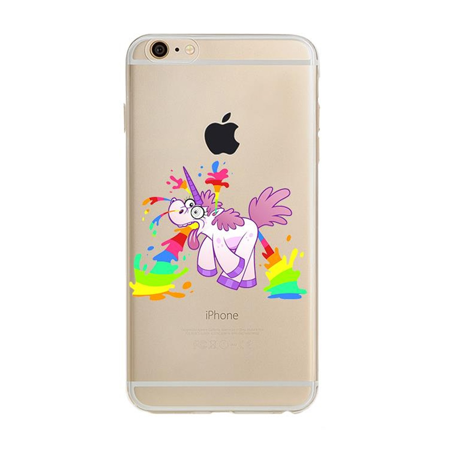 Kritzel Case für iPhone 6 / 6s - Unicorn #5