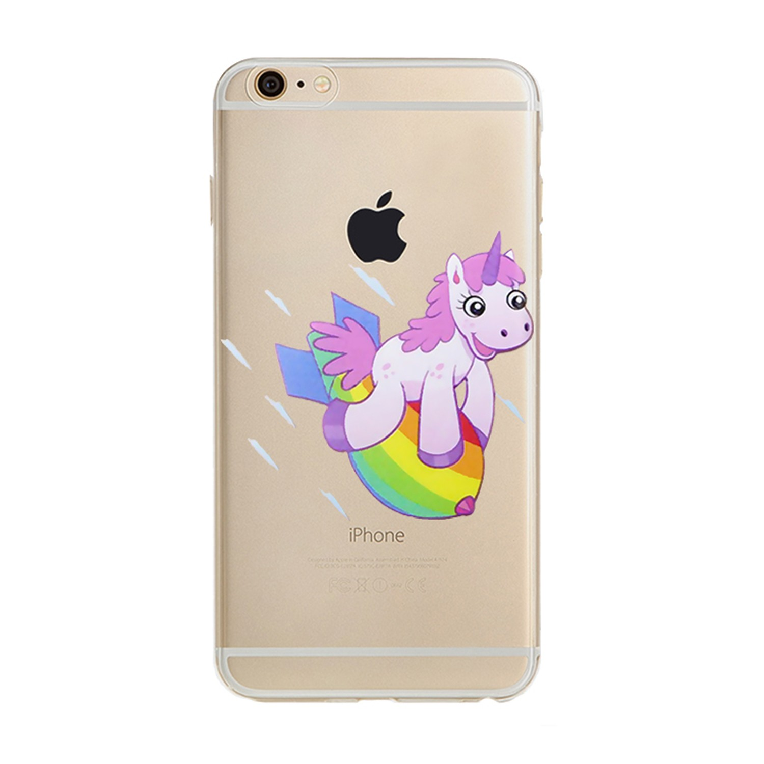 Kritzel Case für iPhone 6 / 6s - Unicorn #8