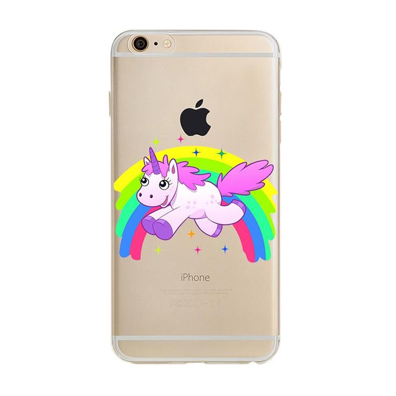 Kritzel Case für iPhone 6 / 6s - Unicorn #11