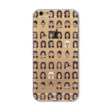 Kritzel Case Emoji Collection iPhone 6 Plus / 6s Plus - Kimoji 2