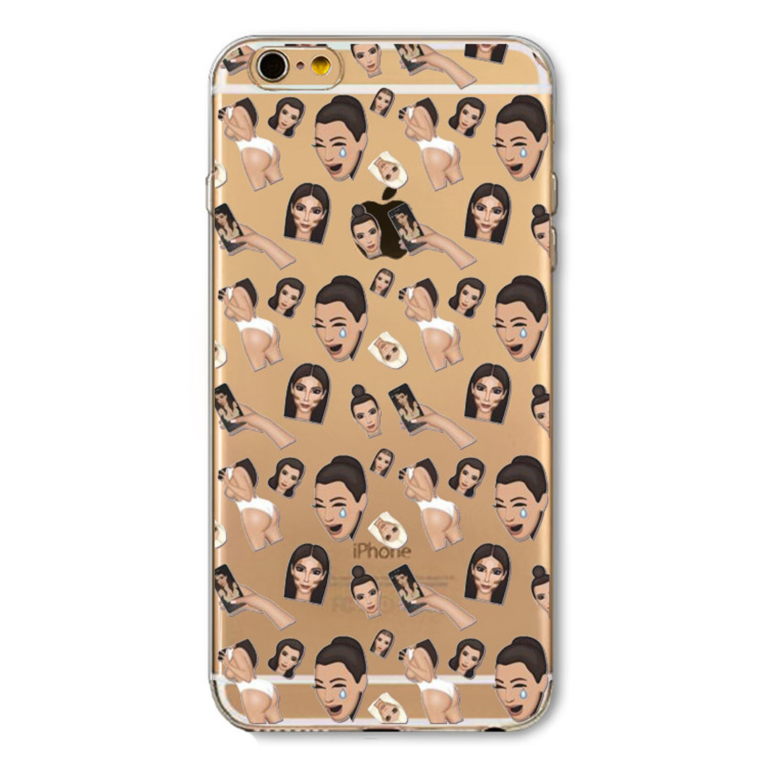 Kritzel Case Emoji Collection iPhone 6 Plus / 6s Plus - Kimoji 4