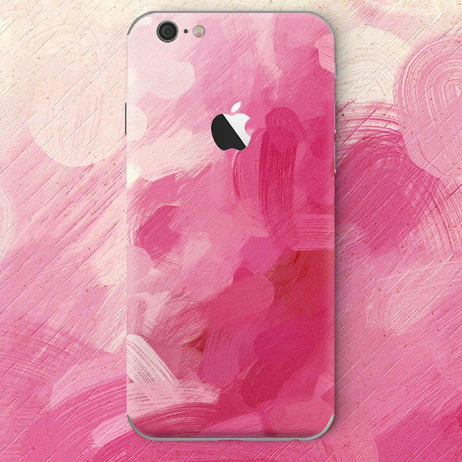 Kritzel Case für iPhone 6 plus / 6s Plus - Pink Detonation