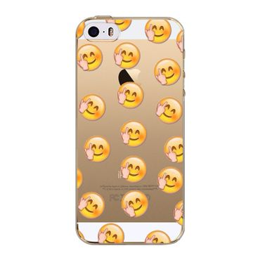 Kritzel Case iPhone SE - Emoji # 243