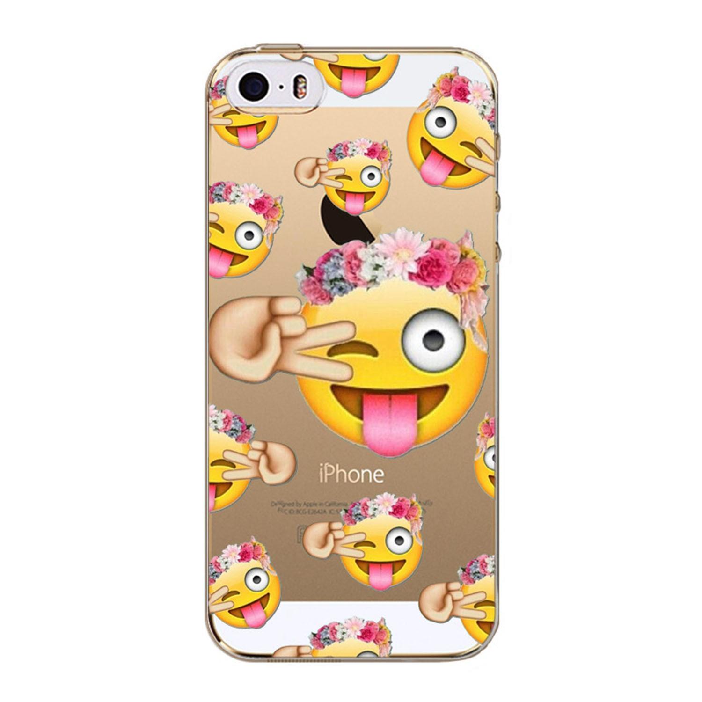Kritzel Case iPhone SE - Emoji # 244