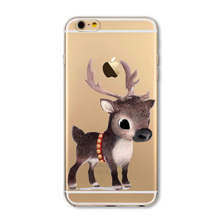 Kritzel Schutzhülle für iPhone 7 - X-Mas #1
