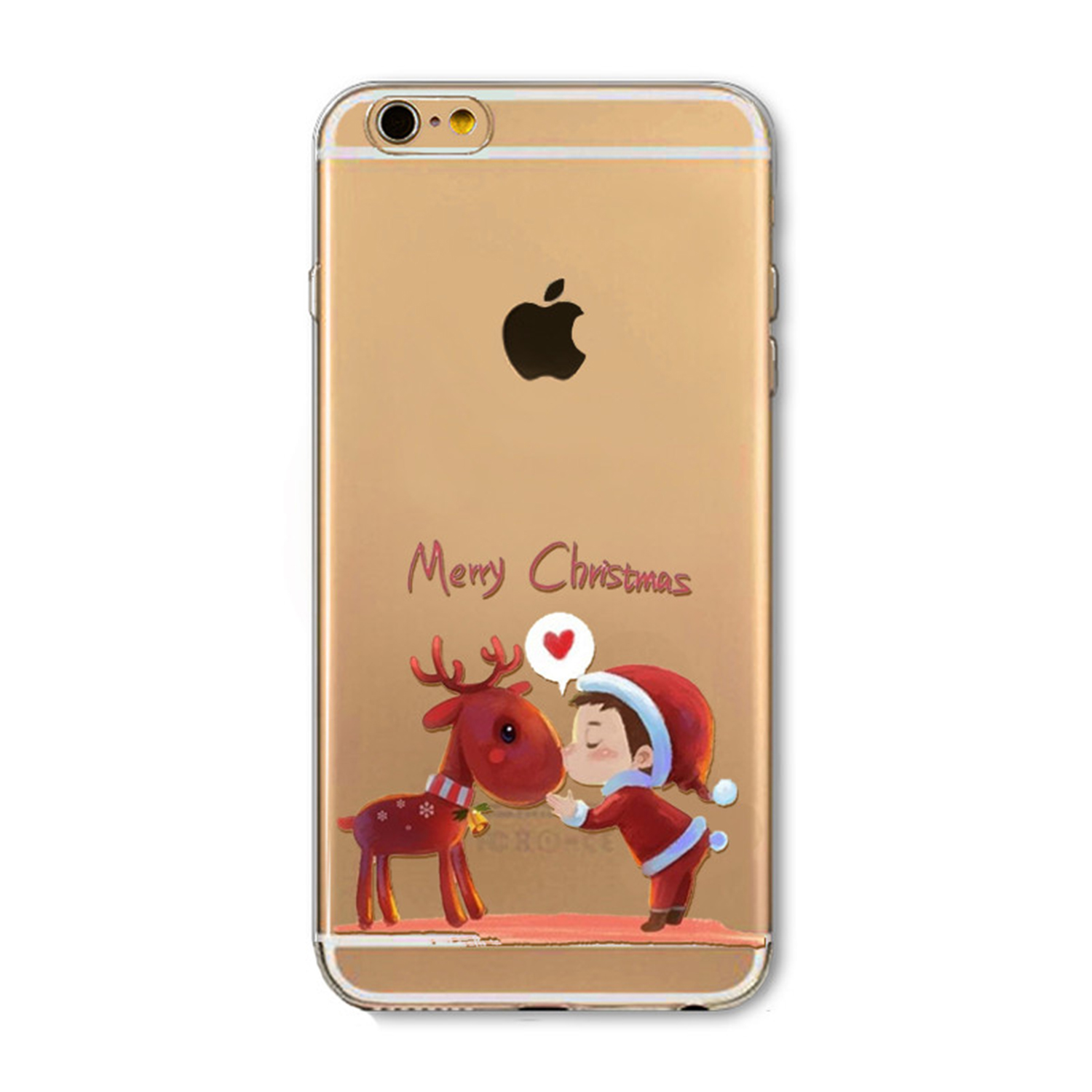 Kritzel Case für iPhone 6 / 6s - X-Mas #2