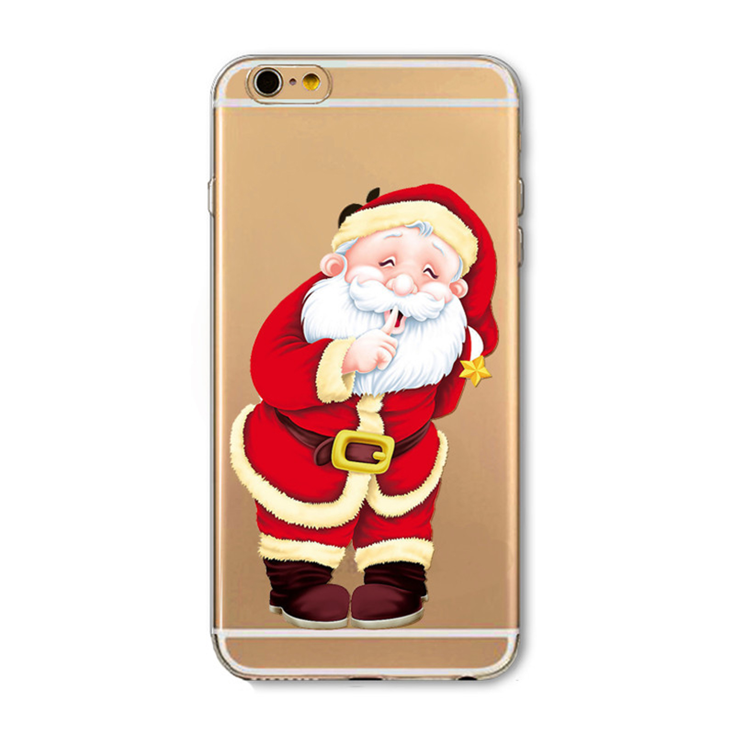 Kritzel Case für iPhone 6 / 6s - X-Mas #3