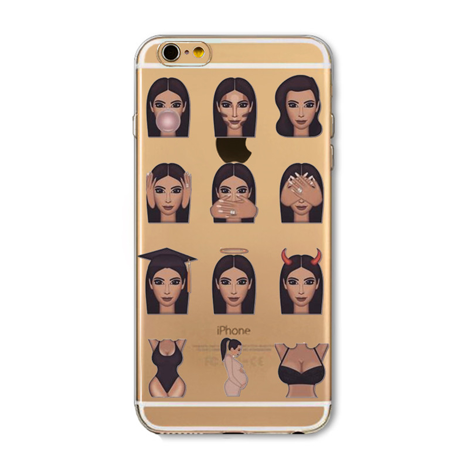 Kritzel Case Emoji Collection iPhone 6 / 6s - Kimoji 9