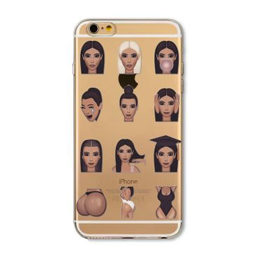 Kritzel Case Emoji Collection iPhone 6 / 6s - Kimoji 10