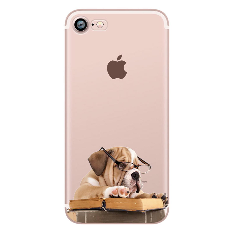 Kritzel Schutzhülle für iPhone 7 - Funky Collection #279