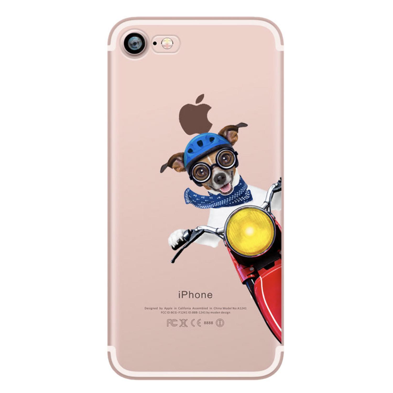 Kritzel Schutzhülle für iPhone 7 - Funky Collection #281