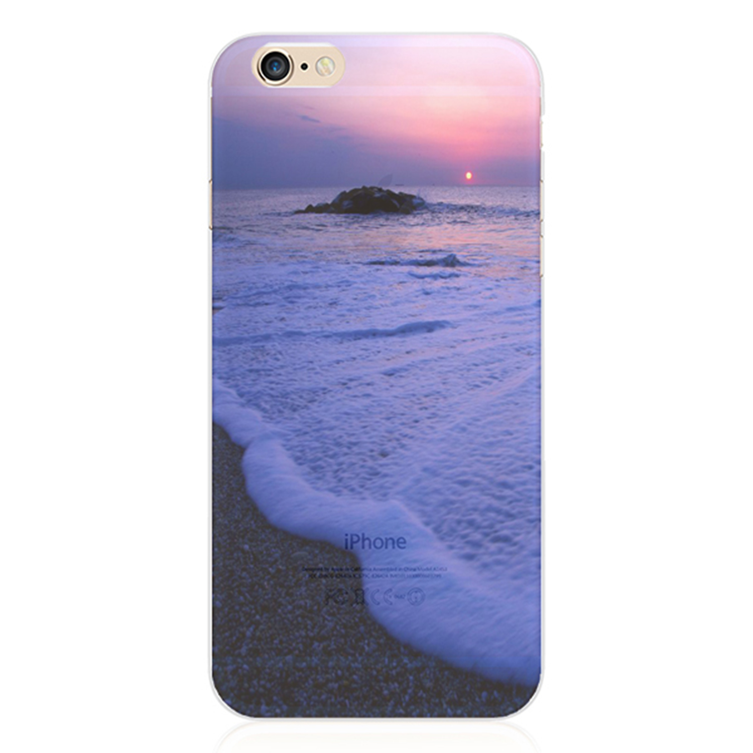 Kritzel Case Nature Collection für iPhone 6 / 6s - #299