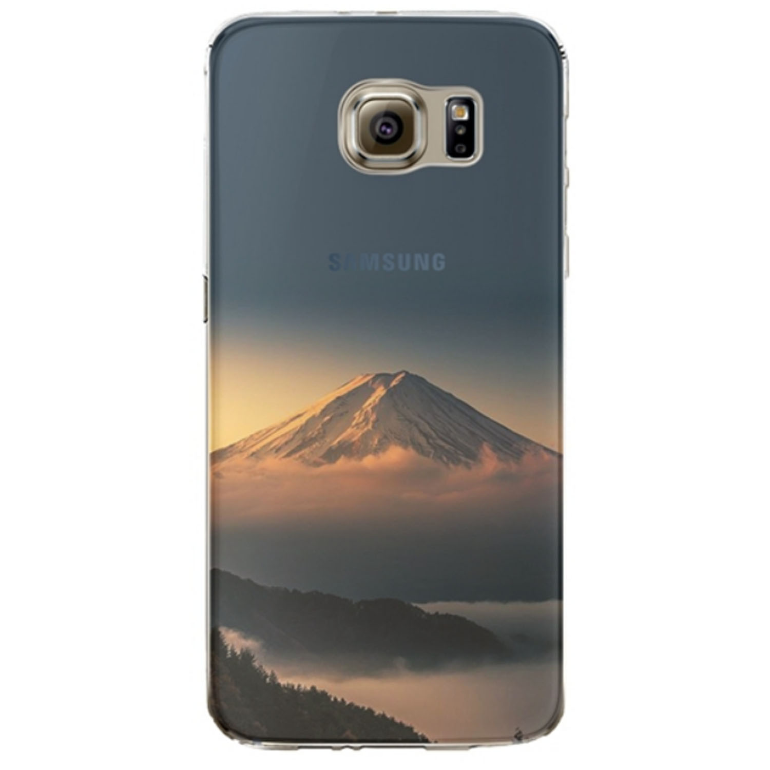 Kritzel Case Collection Galaxy S6 Edge - Nature #326