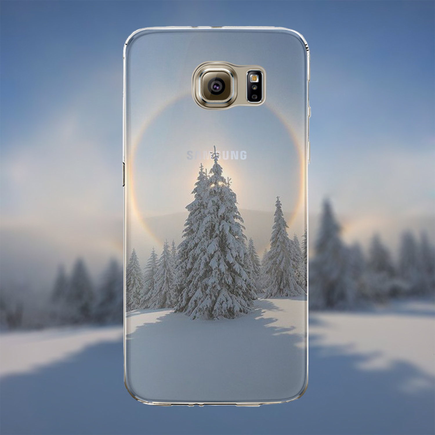Kritzel Case Collection Galaxy S6 - Nature 329