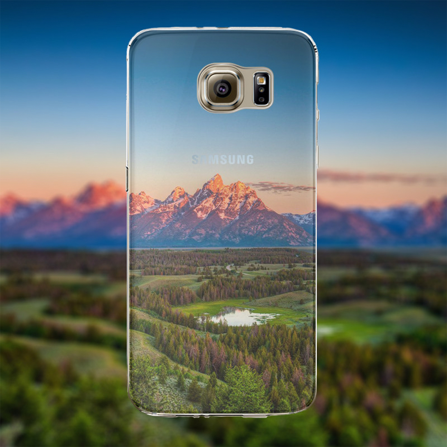 Kritzel Case Collection Galaxy S6 - Nature 330
