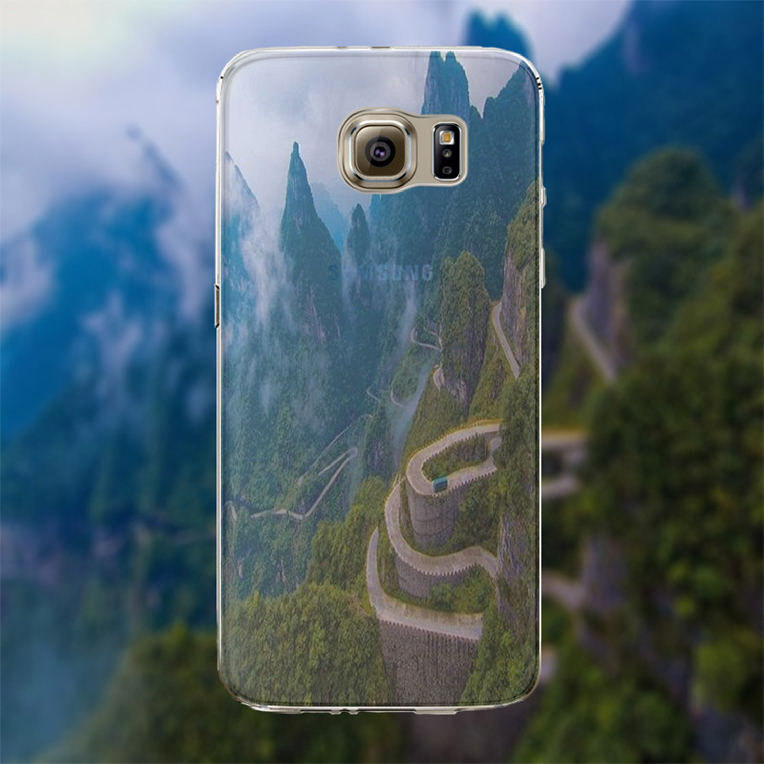 Kritzel Case Collection Galaxy S6 - Nature 337