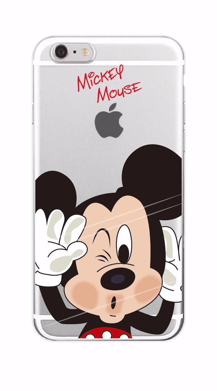 Kritzel Schutzhülle für iPhone 7 - Mickey Mouse