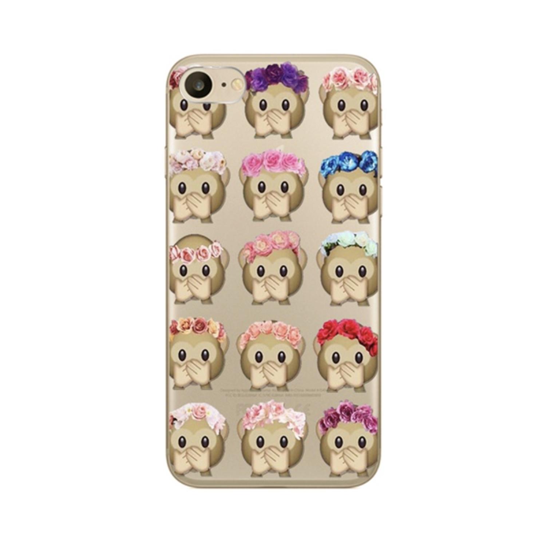 Kritzel Schutzhülle für iPhone 7 - Emoji #364