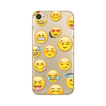 Kritzel Schutzhülle für iPhone 7 - Emoji #369