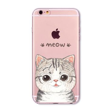 Kritzel Case für iPhone 6 / 6s - Kitty Collection #371