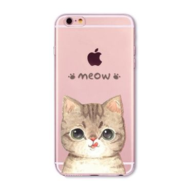 Kritzel Case für iPhone 6 / 6s - Kitty Collection #372