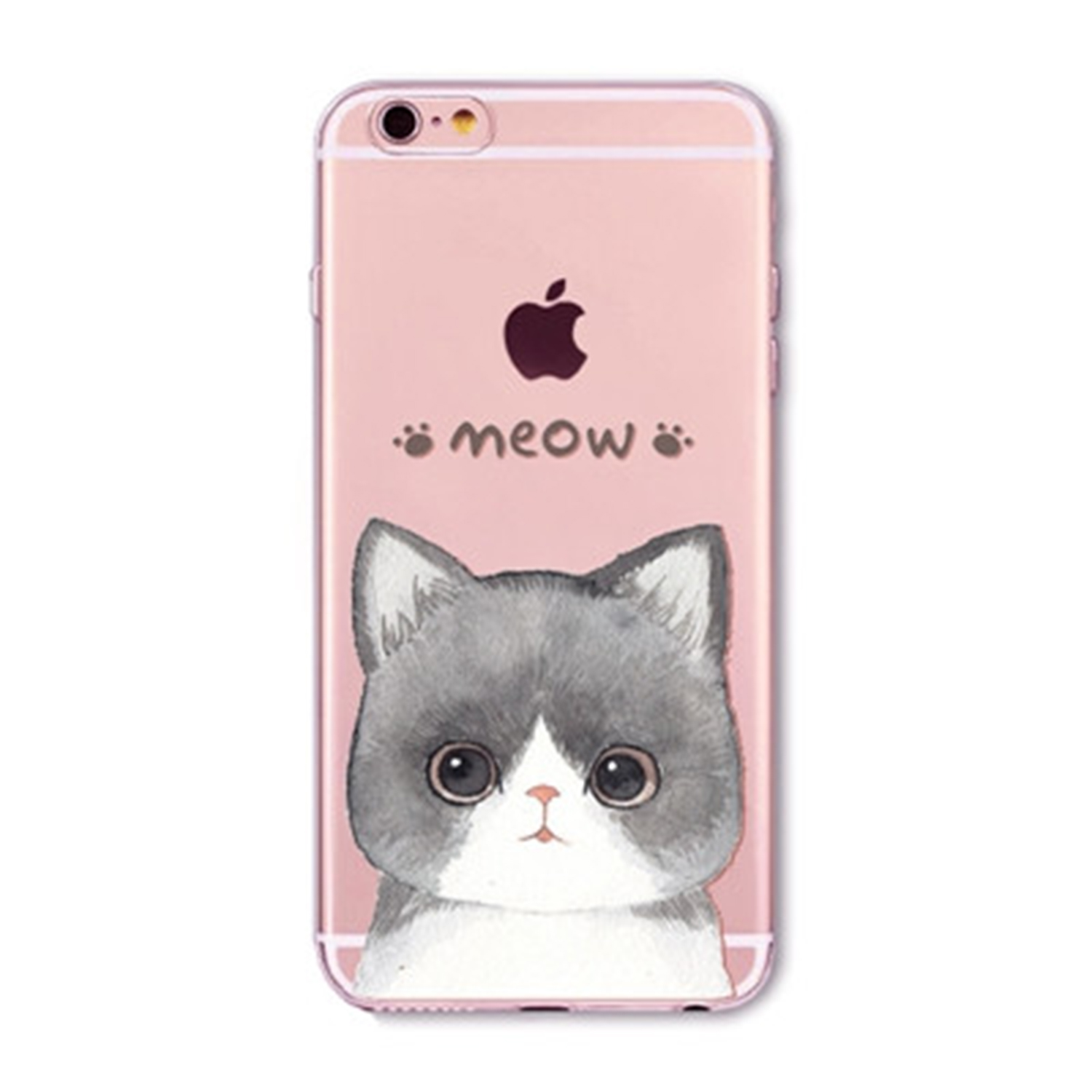 Kritzel Case für iPhone 6 / 6s - Kitty Collection #373