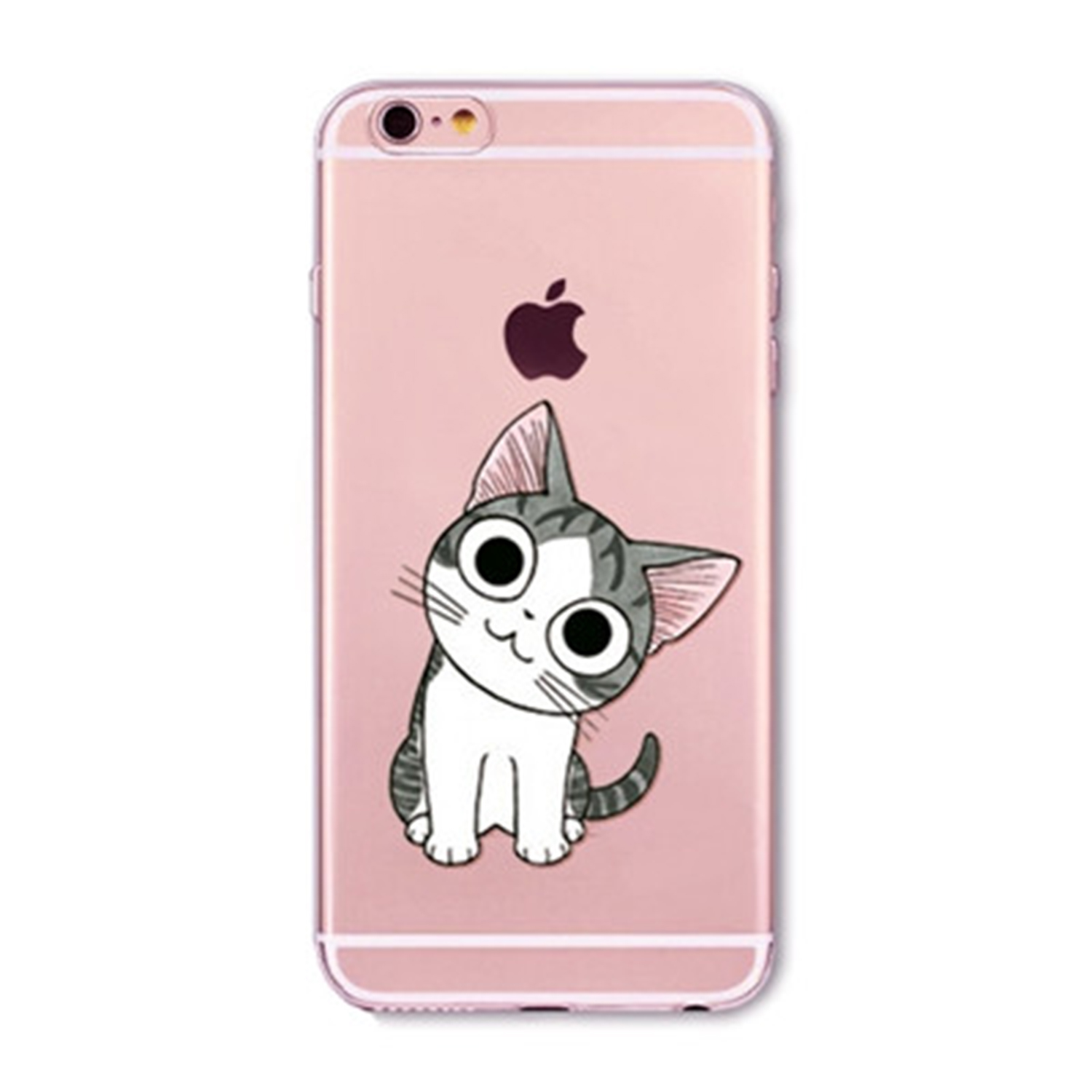 Kritzel Case für iPhone 6 / 6s - Kitty Collection #376