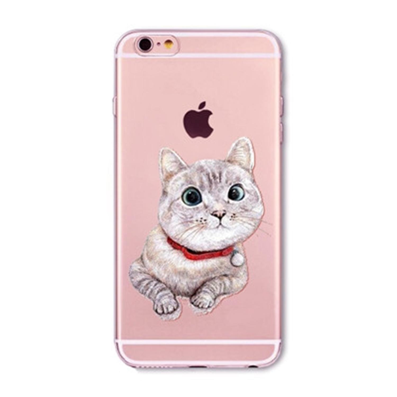 Kritzel Case für iPhone 6 / 6s - Kitty Collection #391