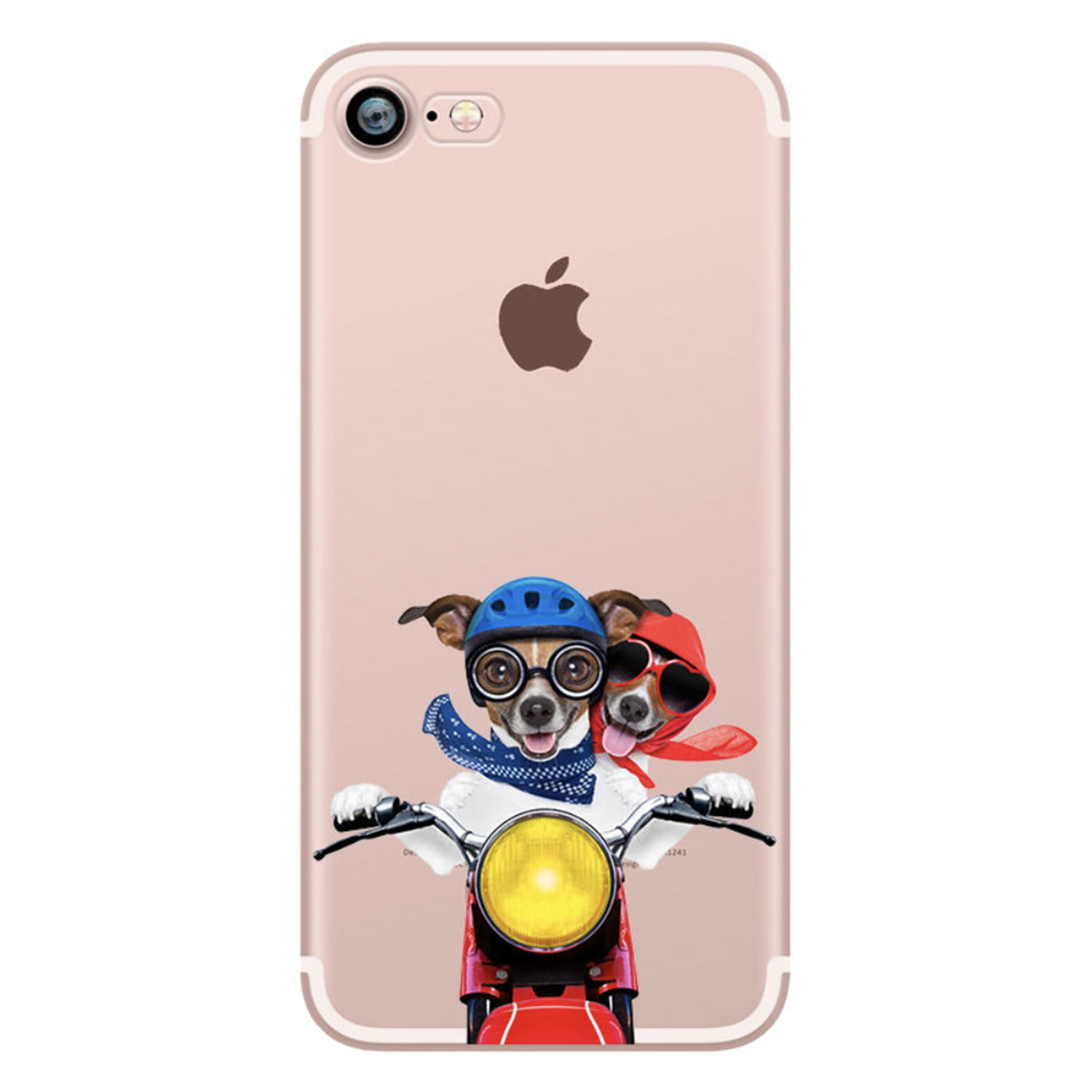 Kritzel Case für iPhone 6 / 6s - Funky Collection #395
