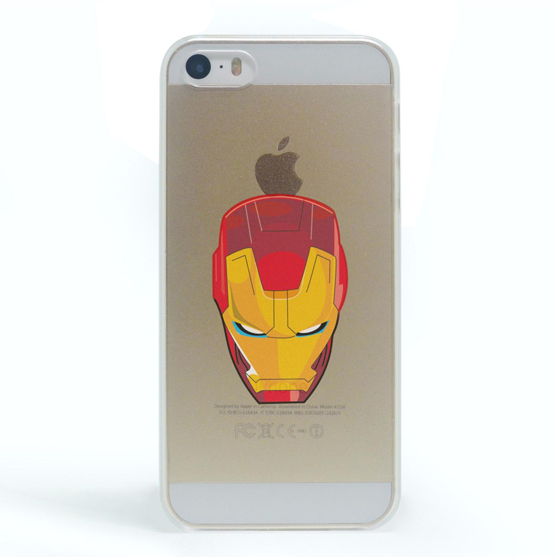 Kritzel Case iPhone 5s / SE - Comic SHC - Iron Man #1