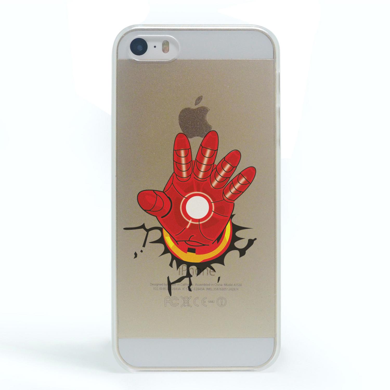 Kritzel Case iPhone 5s / SE - Comic SHC - Iron Man #2